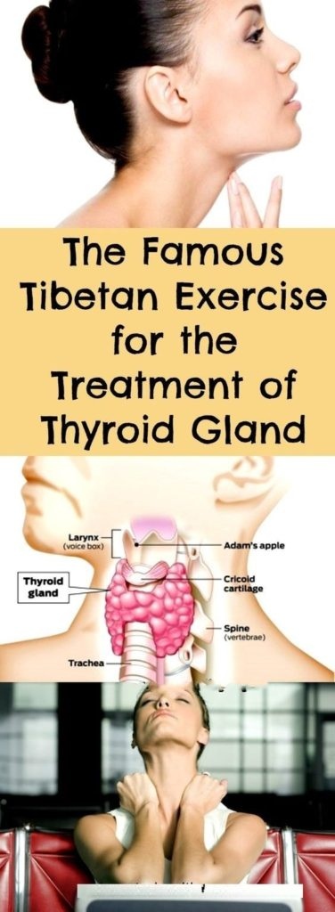 The Famous Tibetan Exercise for the Treatment of Thyroid Gland