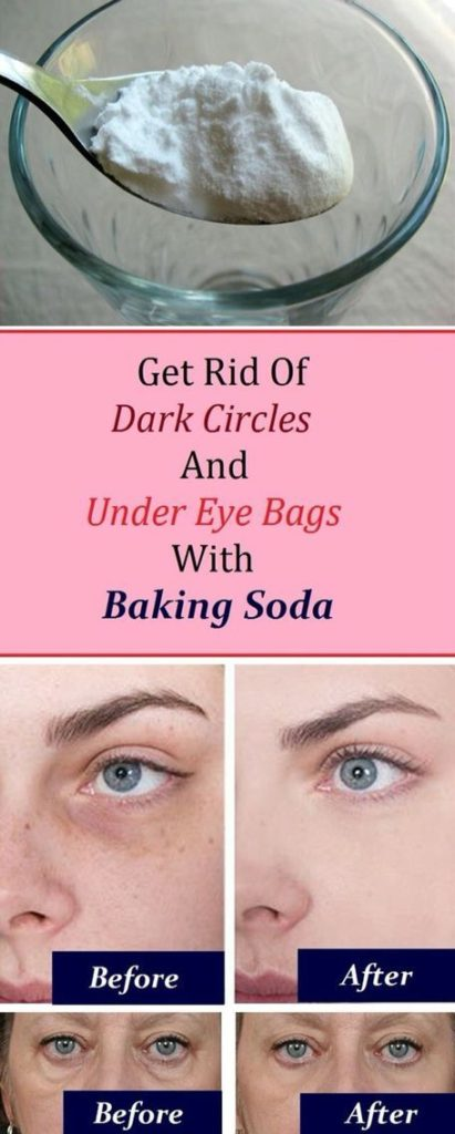How To Clean Your Face And Get Rid Of Dark Circles Under The Eyes With Just One Ingredient